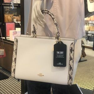 Nwt Coach the edit satchel